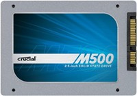 image for Crucial M500 480GB SATA 2.5-Inch 7mm (with 9.5mm adapter) Internal Solid State Drive CT480M500SSD1