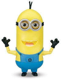 image for Despicable Me 2 Minion Tim The Singing Action Figure