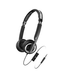 image for Sennheiser PX 200-II i Lightweight Supra-Aural Headphones with 3 Button Control for iPod, iPhone, and iPad