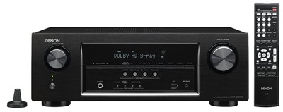 image for Denon AVR-S500BT 5.2 Channel AV Receiver With 4K Capability and Bluetooth