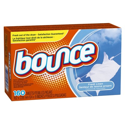 image for Bounce Fresh Linen Fabric Softener Sheets 160 Count