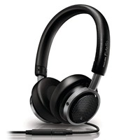 image for Philips M1/28 Fidelio On-Ear Headphones with Remote and Mic - Black