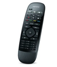 image for Logitech Harmony Smart Control with Smartphone App and Simple Remote - Black
