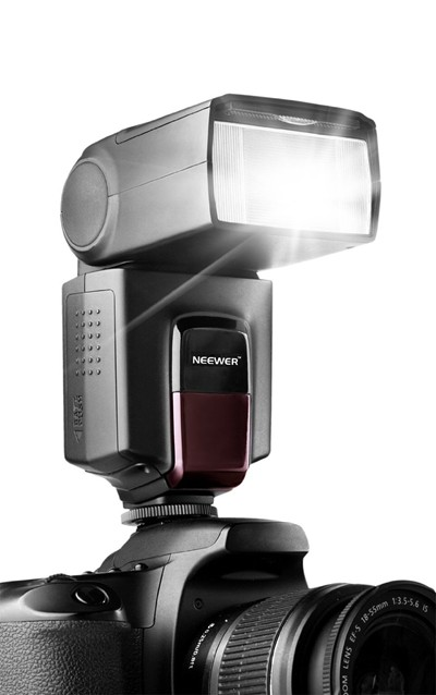 image for Neewer TT560 Flash Speedlite for Canon Nikon Sony Panasonic Olympus Fujifilm Pentax Sigma Minolta Leica and Other SLR Digital SLR Film SLR Cameras and Digital Cameras with single-contact Hot Shoe
