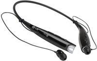image for LG Electronics Tone+ HBS-730 Bluetooth Headset - Retail Packaging - Black
