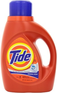 image for Tide HE Original Scent Liquid Laundry Detergent 2 X 50 Fl Oz (Pack of 2)