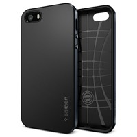 image for Spigen SGP10360 Neo Hybrid Case for iPhone 5/5S - Retail Packaging - Metal Slate