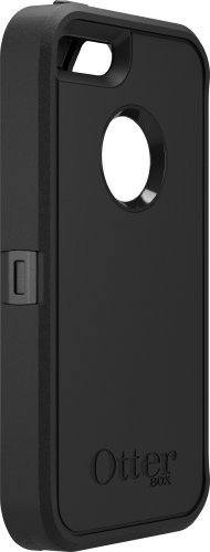 image for OtterBox Defender Series Case for iPhone 5S - Retail Packaging - Black