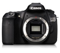 image for Canon EOS 60D 18 MP CMOS Digital SLR Camera with 3.0-Inch LCD (Body Only)