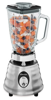 image for Oster 4093-008 5-Cup Glass Jar 2-Speed Beehive Blender, Brushed Stainless