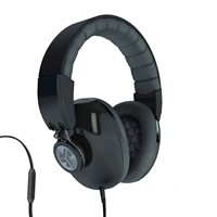 image for JLab Bombora Over the Ear Headphones with Universal Mic - Midnight Black / Gunmetal