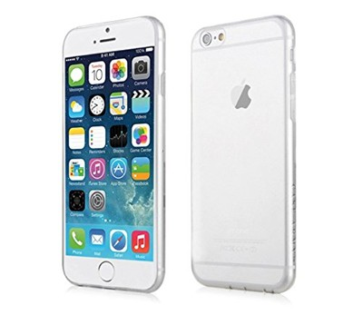 image for iPhone 6 Plus Case, Case Army® Scratch-Resistant Slim Clear Case for Apple iPhone 6 Plus (5.5 inch ONLY. The bigger iPhone 6 +) {Does not fit iPhone 6 [4.7 inch]} Shock-Dispersion Technology Silicone Crystal Clear Ultra Slim Cover with TPU Bumper (Limited Lifetime Warranty)