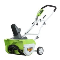 "image for GreenWorks 26032 12 Amp 20"" Corded Snow Thrower"