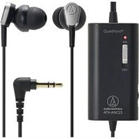 image for Audio-Technica ATH-ANC23BK In-Ear Sonic Pro Headphone