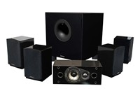 image for Energy 5.1 Take Classic Home Theater System (Set of Six, Black)
