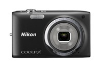 image for Nikon COOLPIX S2700 16 MP Digital Camera with 6x Optical Zoom and 720p HD Video (Black)