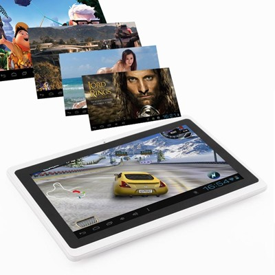 "image for 8GB 7"" Google Android 4.0 Tablet PC A13 Capacitive Screen Camera MID Wifi White"