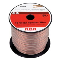 image for RCA AH16100SR 100 Ft. 16-Gauge Speaker Wire