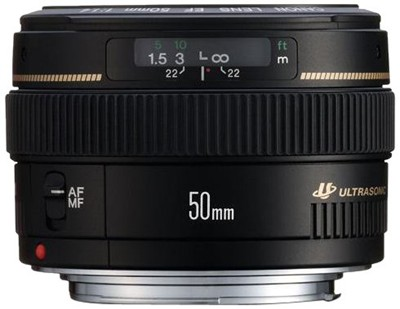 image for Canon EF 50mm f/1.4 USM Standard & Medium Telephoto Lens for Canon SLR Cameras