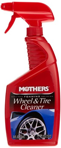 image for MOTHERS 05924 Foaming Wheel & Tire Cleaner - 24 oz