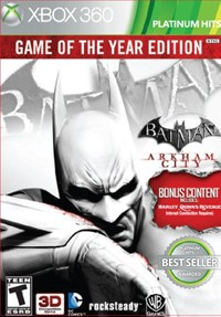 image for Batman: Arkham City (Game of the Year Edition)